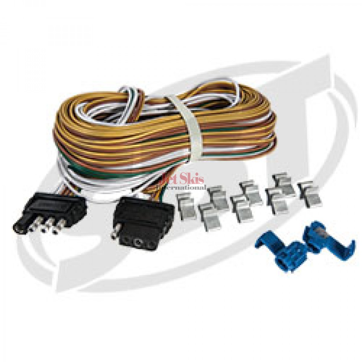 wire harness diagram 5 wire moped wire harness 25 w/ ground wire | jet skis international wire harness ground