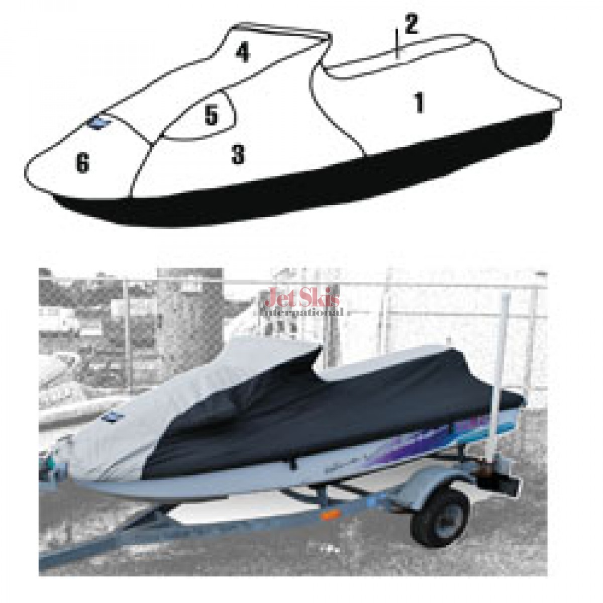 YAMAHA WAVE VENTURE 700/1100/760 STORAGE COVER