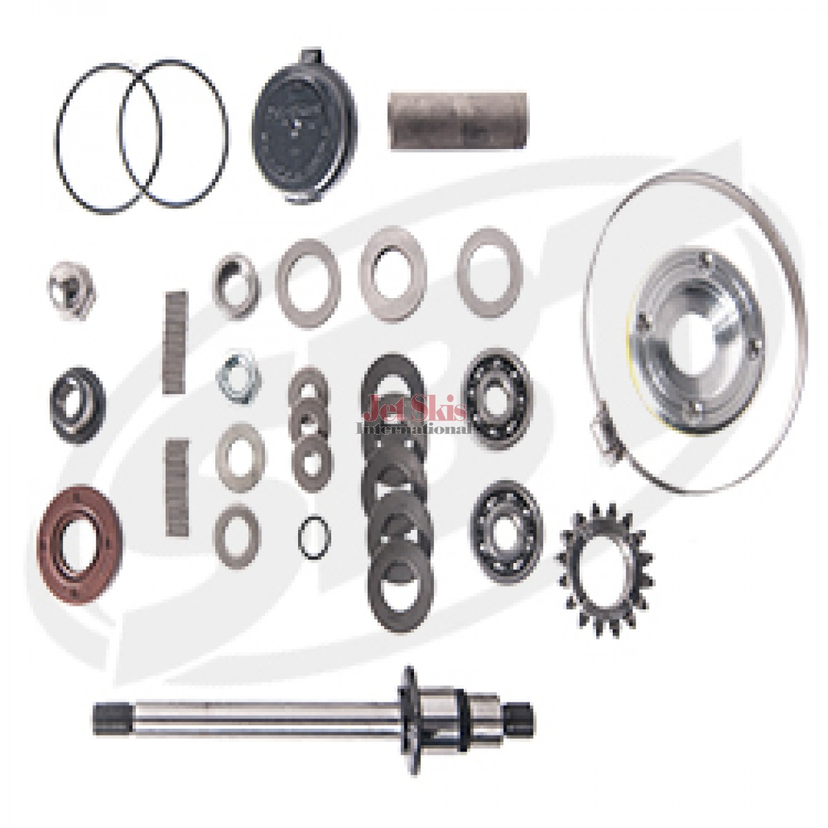 Kawasaki Supercharger Kits: SEA DOO SUPERCHARGER REBUILD KIT GTX/CHALLENGER 180