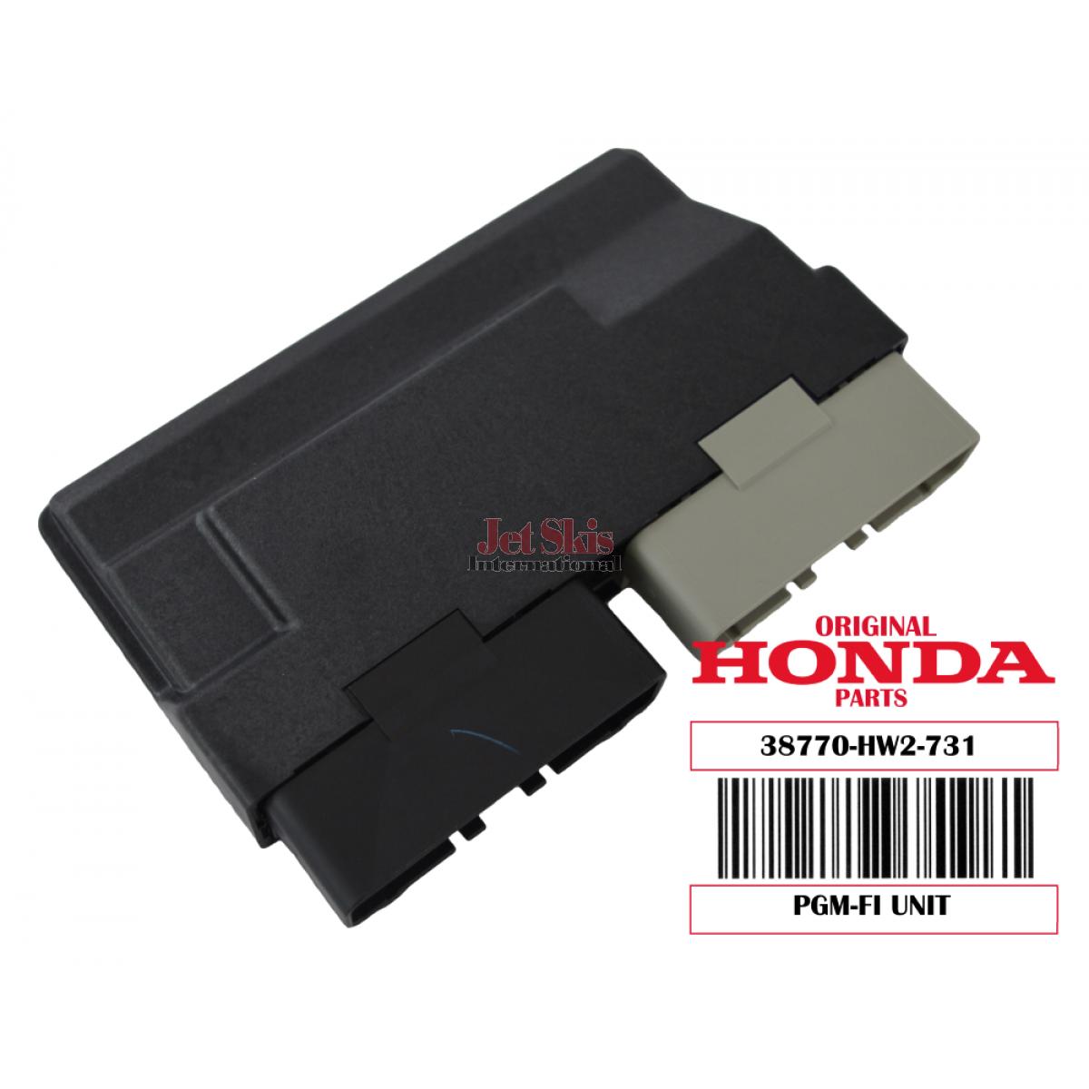 HONDA AQUATRAX 38770-HW2-731 PGM-FI UNIT / ECU 05-07 N3 F12