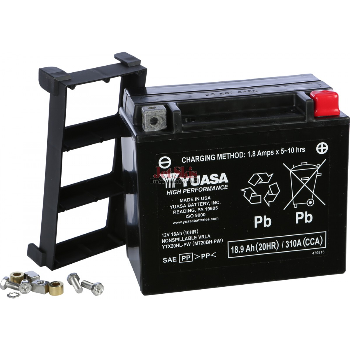 yuasa battery ytx20hl pw for kawaski jet skis polaris watercraft sea doo watercraft and. Black Bedroom Furniture Sets. Home Design Ideas