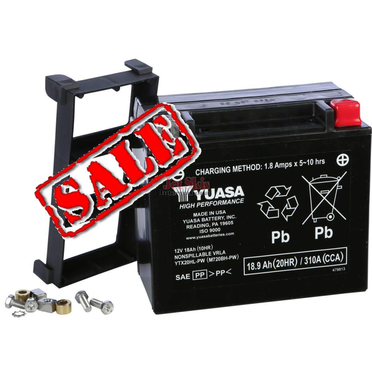 Yuasa Battery Ytx20hl Pw For Kawaski Jet Skis Polaris Watercraft 1990 Kawasaki Ts Ski Wiring Diagram Yuam720bh Sale