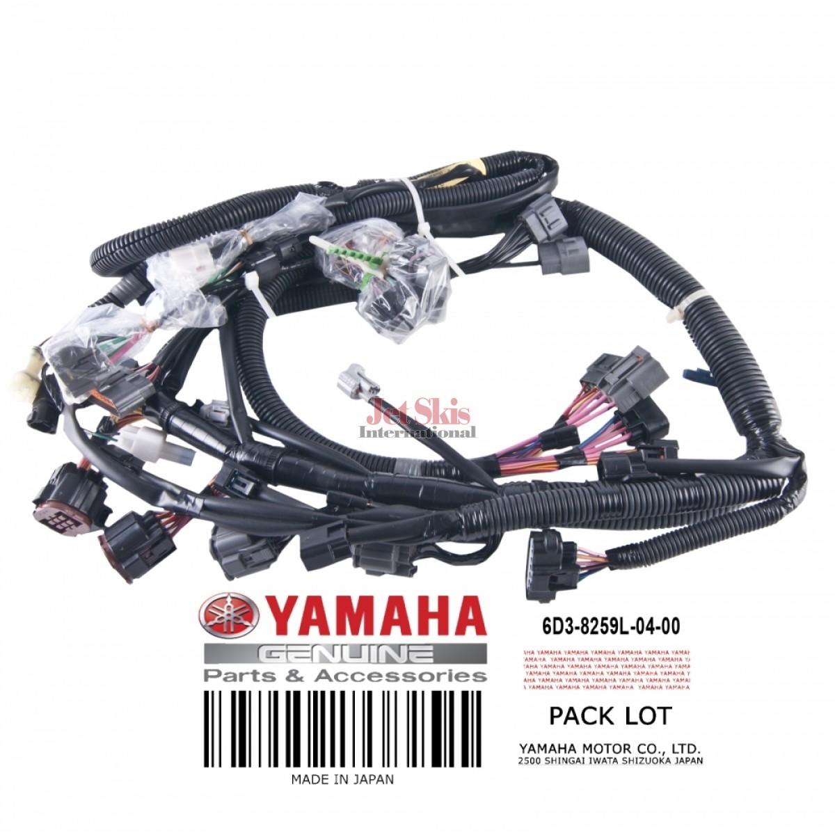 YAMAHA 6D3-8259L-04-00 WIRE HARNESS ASSEMBLY   Jet Skis International