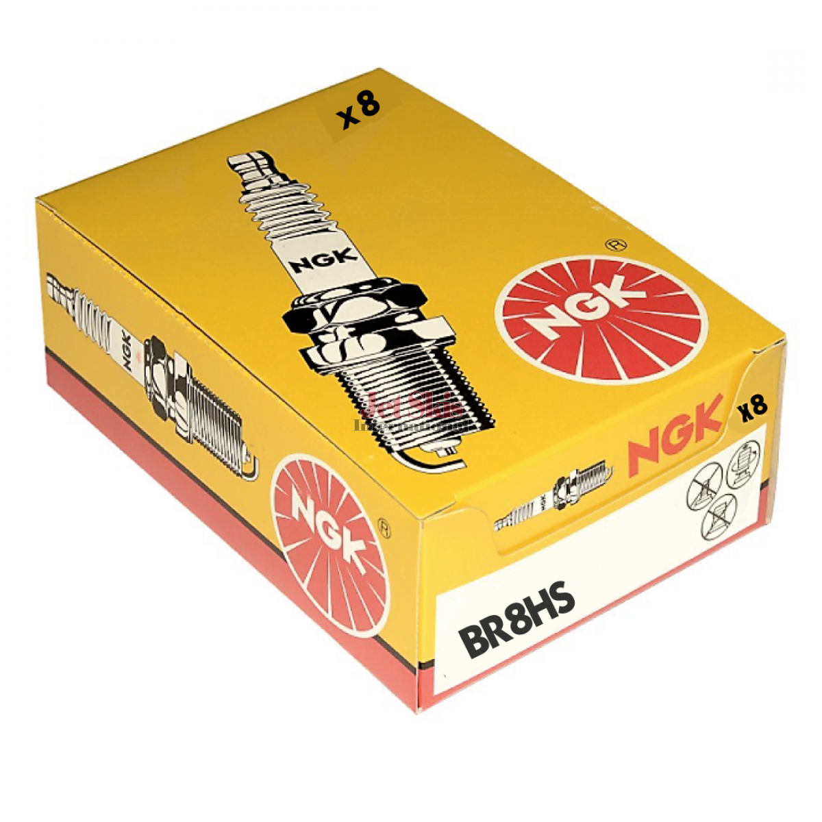 NGK SPARK PLUG BR8HS(4322) FOR YAMAHA WATERCRAFT - AS LOW AS