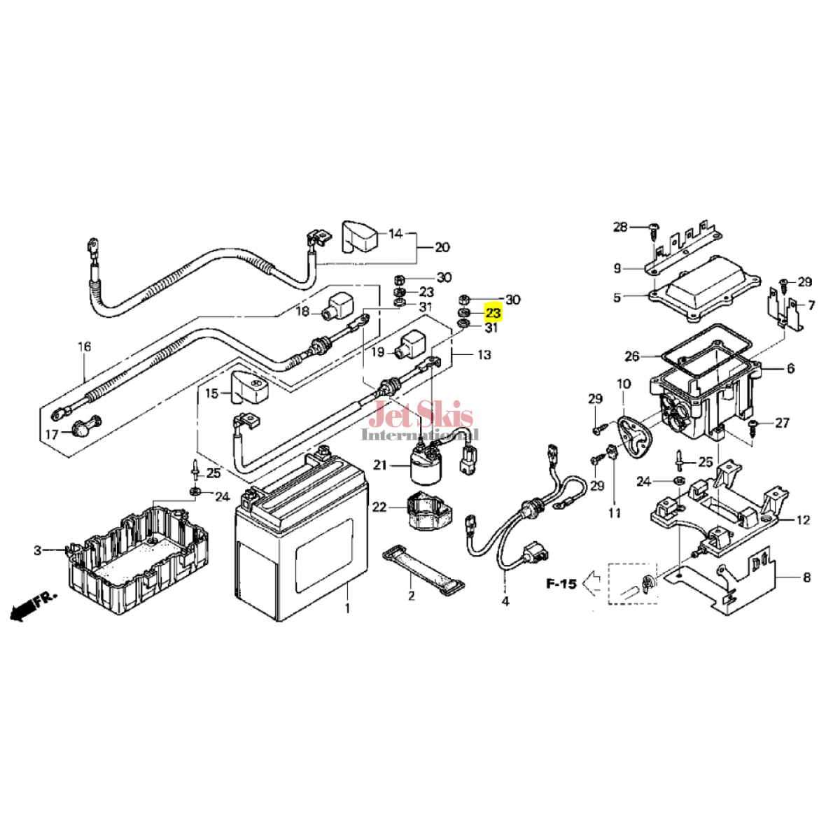 honda jet ski parts diagrams  honda  auto wiring diagram