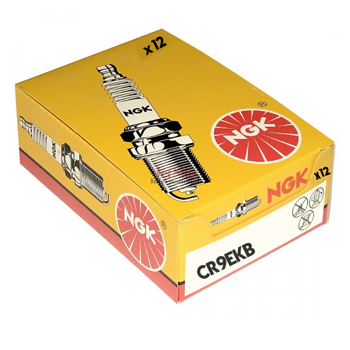 CR9EKB NGK Spark Plug Single Piece Pack for Stock Number 2305 or Copper Core Part No