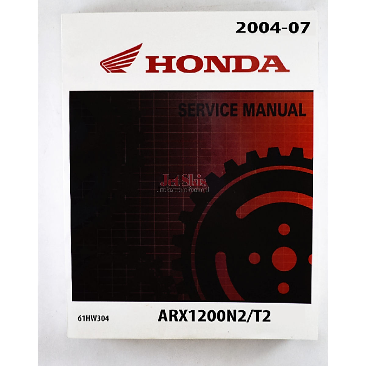 honda aquatrax r12 r12x service and shop manual 61hw304 jet skis rh jetskisint com Honda Motorcycle Service Manual PDF Honda GX340 Service Manual
