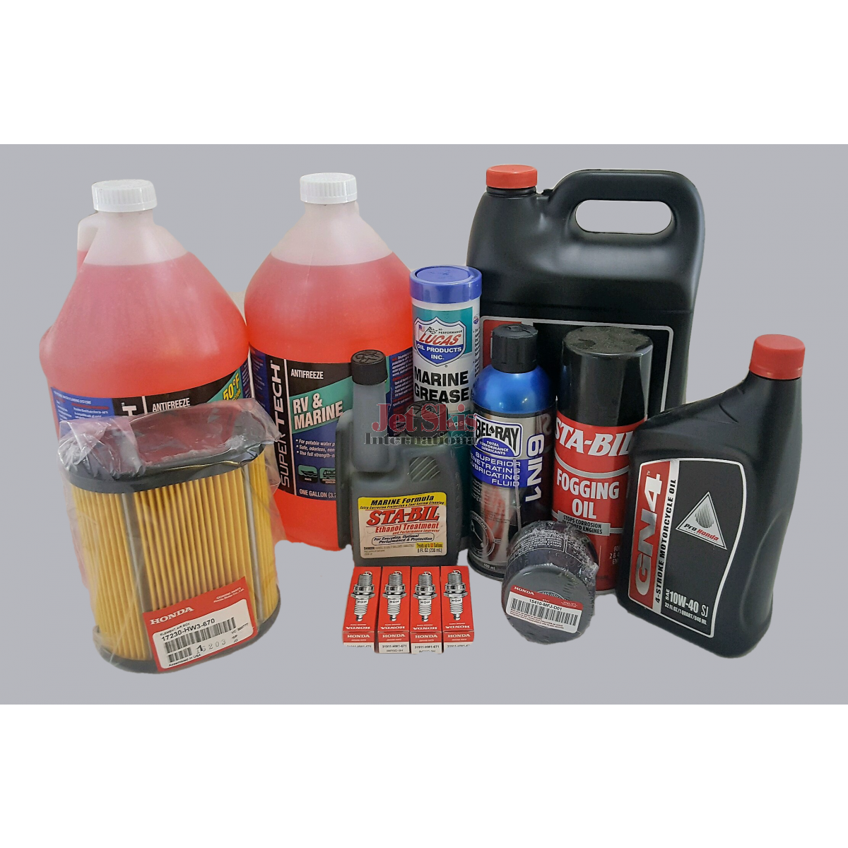 Honda Aquatrax Turbo Winterization and Maintenance Kit