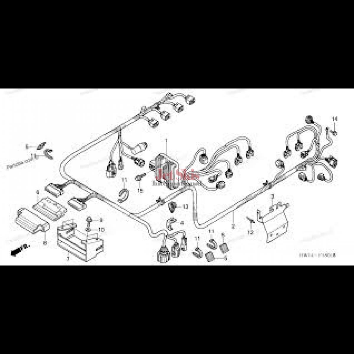 [DIAGRAM_38DE]  Honda Aquatrax Part# 32101-HW4-680 Engine Harness | Jet Skis International | Aquatrax Wiring Diagram |  | Jet Skis International
