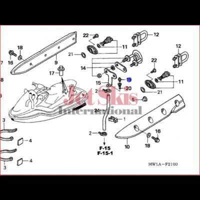 Honda Aquatrax 90951 Zv7 010 Grease Nipple