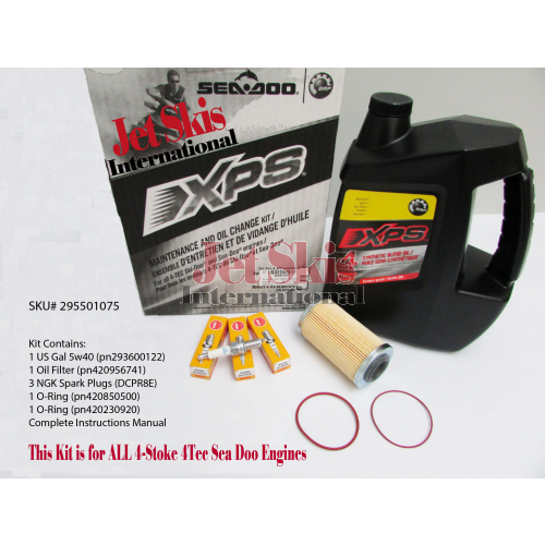 Sea Doo 4-Tec Maintenance Kit/ Oil Change Kit