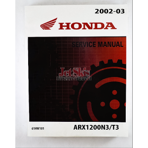 2002-2003 Honda Aquatrax F12,F12X Shop Manual