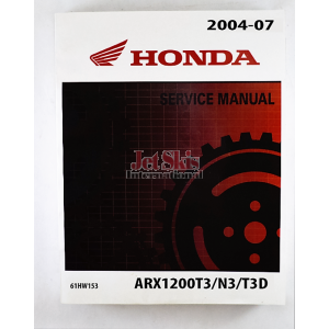 2004-2007 Honda Aquatrax F12, F12X Service/Repair Manual