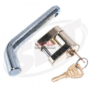 Trailer Hitch Lock with Pin