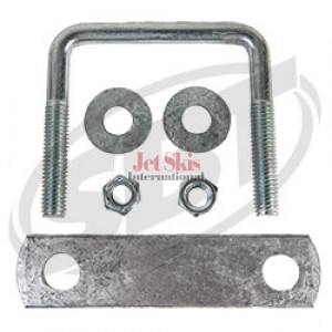 Trailer U-Bolts with Frame Straps  3-1/ 8 x 3 & 5 inch strap