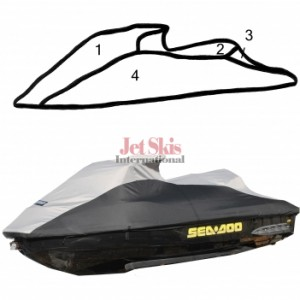 SEA DOO 260 RXT IS/RXT-X AS/GTX LTD IS/GTX S/GTX S 155 STORAGE COVER 111WS118-C