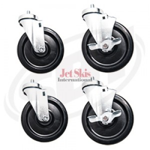 6 Caster Swivel Kit (2 Brake  2 Non-Brake)