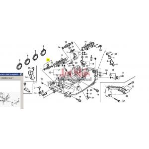 HONDA 16450-HW5-901 FUEL INJECTOR ASSY