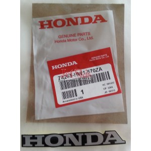 Honda hood decal