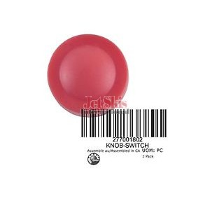 SEADOO SWITCH KNOB, RED 277001802