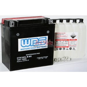 Watercraft battery YB16L-B