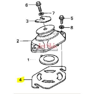 HONDA 50206-HW1-680 ENGINE SHIM (0.3MM)