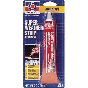 SUPER WEATHER STRIP ADHESIVE 2 OZ