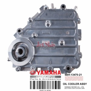 YAMAHA 6BH-13470-21-00 OIL COOLER ASSEMBLY