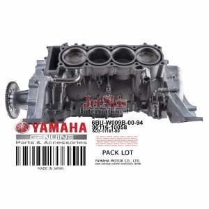 YAMAHA 6BU-W009B-00-94 CYLINDER BLOCK ASSEMBLY