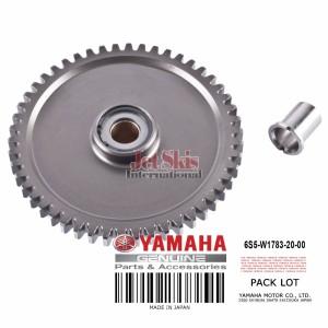 YAMAHA 6S5-W1783-20-00 DRIVE GEAR & COLLAR