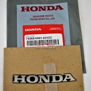 Honda Mark Type2 74265-HW1-A21ZB New OEM