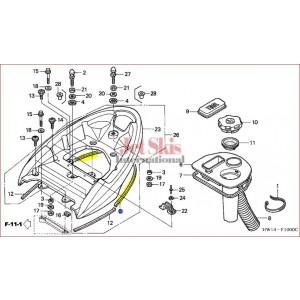F12,F12X REAR GRIP SEAL 77355-HW1-670