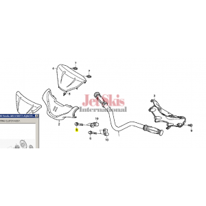 HONDA 90114-HW1-671 FLANGE BOLT (8X35)