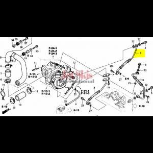 OEM Honda Oil Hose 15510-HW1-670