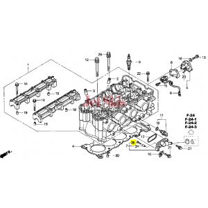 HONDA AQUATRAX PART # 93500-05035-4J SCREW, PAN (5X35)