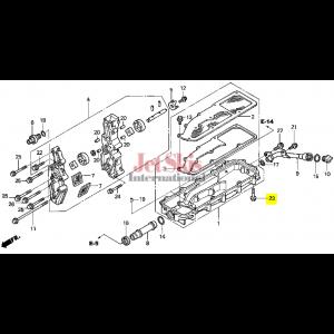HONDA AQUATRAX 95701-06035-02 BOLT, FLANGE (6X35)