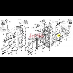 Honda AQUATRAX 91302-377-000 O-RING (15X2.5)