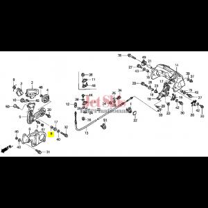 HONDA AQUATRAX 24818-HW1-670 COLR, REVERSE LEVER