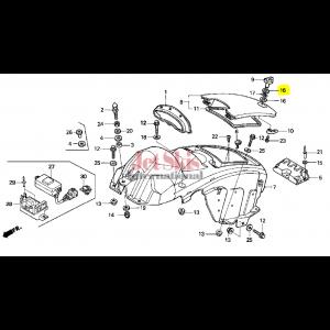 HONDA AQUATRAX WASHER (14MM) 90505-ZV1-000