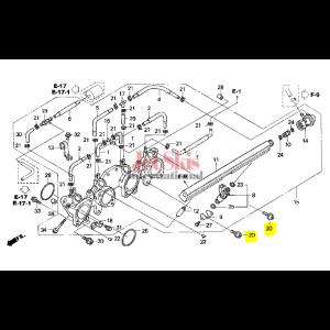 HONDA AQUATRAX BOLT (8X28) 90002-HW3-670