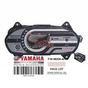 YAMAHA F1K-6820A-40-00 METER ASSEMBLY