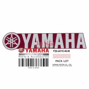 YAMAHA PART # F2S-U411C-00-00 EMBLEM YAMAHA