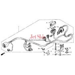 wire harness electrical honda jet skis international 32100 hw1 680 diagram