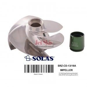 Solas SRZ-CD-13/18 Concord Sea Doo impeller