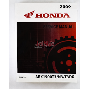 2009 Aquatrax F15, F15X Service, Repair, and Shop Manual 61HW501