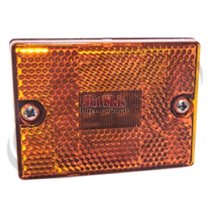 LED Clearance Light amber single stud
