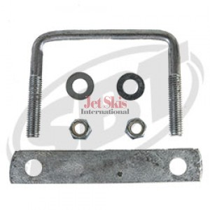 Trailer U-Bolts with Frame Straps  4-1/ 8 x 3 & 6 strap