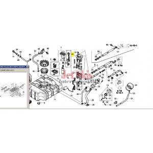 HONDA 17710-HW1-671 FLANGE SET
