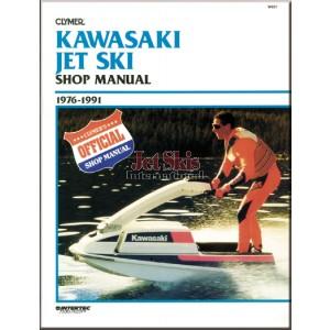 Kawasaki 1976-1991 REPAIR MANUAL