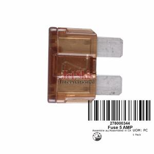 SEADOO GTI RFI LE FUSE, 5 AMPERES 278000344